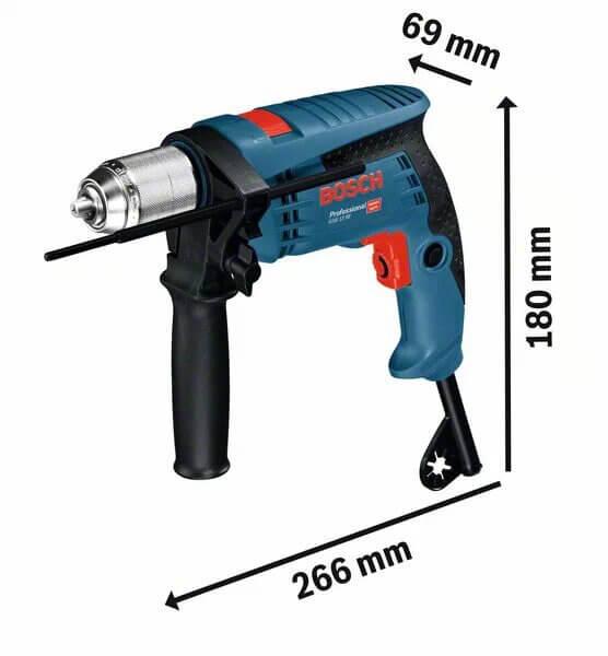 Bosch GSB 13 RE Professional Medidas