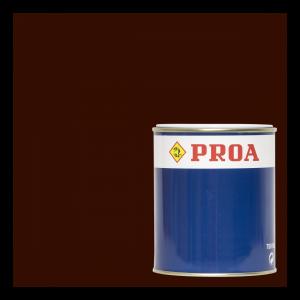 Esmalte poliuretano 2 componentes marrón ral 8016 + componente b pur