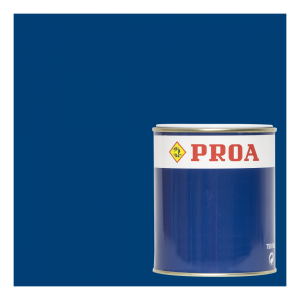 Esmalte poliuretano 2 componentes azul eléctrico ral 5010 + componente b pur