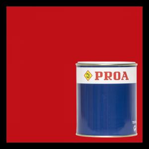 Esmalte poliuretano 2 componentes bermellón ral 3001 + componente b pur