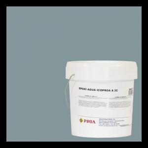 Epoxi agua icoproa gris medio ral 7042 + epoxi agua icoproa