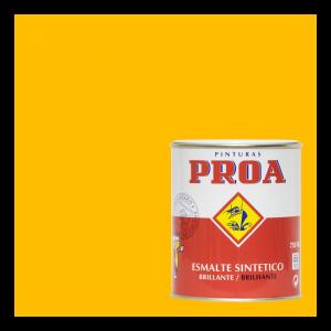 Esmalte sintético brillante proa amarillo ral 1023