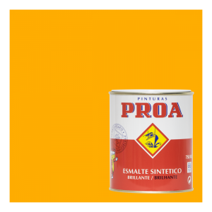 Esmalte sintético brillante proa amarillo grúas ral 1028