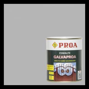 Esmalte galvaproa directo sobre galvanizado aluminio ral 9006