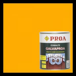 Esmalte galvaproa directo sobre galvanizado amarillo grúas ral 1028