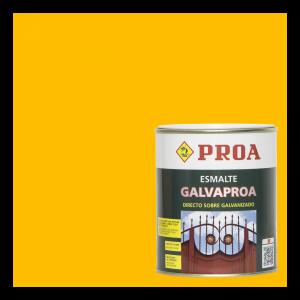Esmalte galvaproa directo sobre galvanizado amarillo ral 1023