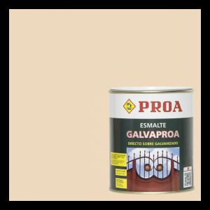 Esmalte galvaproa directo sobre galvanizado marfil ral 1015