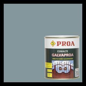 Esmalte galvaproa directo sobre galvanizado gris medio ral 7042