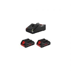 Kit Bosch 2 ProCORE18V 4.0Ah + GAL 18V-40 Professional