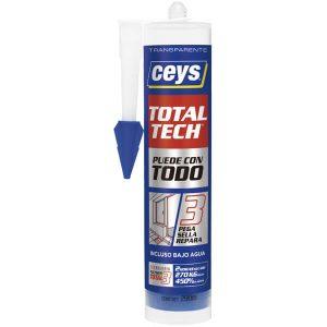 Adhesivo sellador Ceys Total Tech Transparente