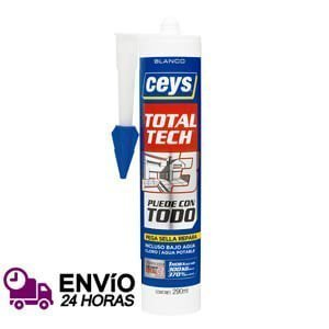 Adhesivo sellador Ceys Total Tech blanco