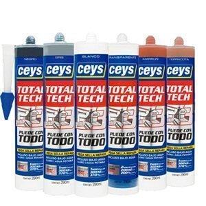 Adhesivo sellador Ceys Total Tech colores
