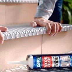 Adhesivo sellador Ceys Total Tech pega