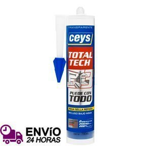 Adhesivo sellador Ceys Total Tech Transparente