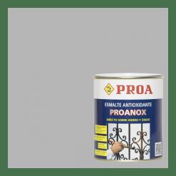 Esmalte proanox directo sobre oxido aluminio ral 9006