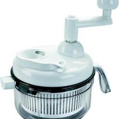 Mini picadora de 2 cuchillas + batidor 1 litro, manual - Lacor