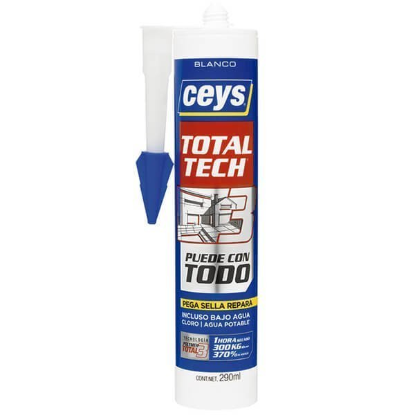 Adhesivo ceys total tech blanco