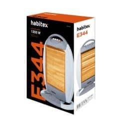 Estufa cuarzo HABITEX E344 1200 W02