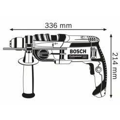 Taladro GSB 20-2 Bosch Professional medidas