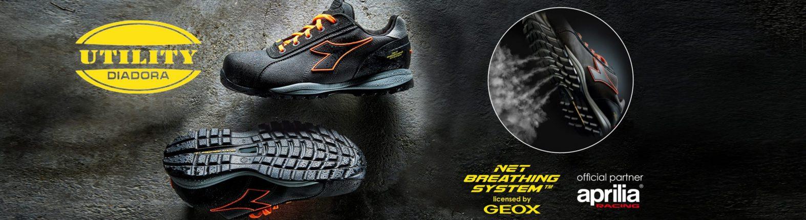ropa y zapatos de seguridad diadora utility
