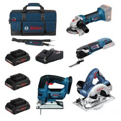 Kit Bosch herramientas de corte a batería