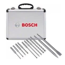 Kit 11 Brocas Bosch SDS plus
