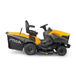 Stiga Tractor cortacesped ESTATE 7122 HWSY lateral