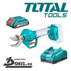 Tijera Poda Bateria 20V Brushless Total - P20S