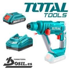 Rotomartillo Taladro Percutor Batería 20V Total - P20S