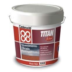 Titan Antigoteras Cadena 88 Rojo Teja