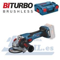 Amoladora Biturbo Bosch GWX 18V-15 C