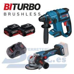 Martillo y amoladora Biturbo Bosch