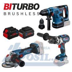 Kit 3 herramientas Biturbo Bosch