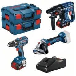 18V kit:GSR+GBH+ GWS 18v-7 + LBox